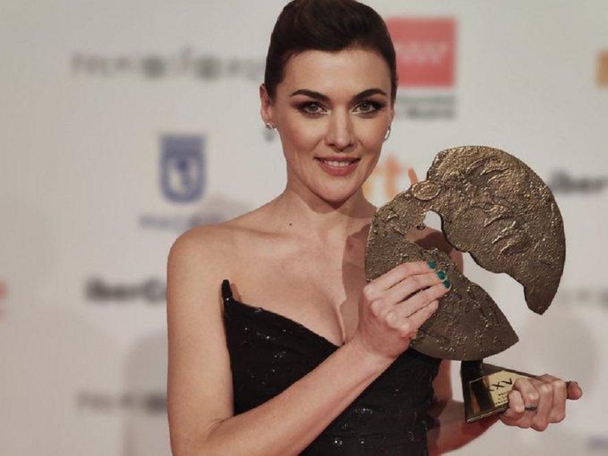 Marta Nieto por s interpretación en Madre, mejor actriz femenina/Img. twitter