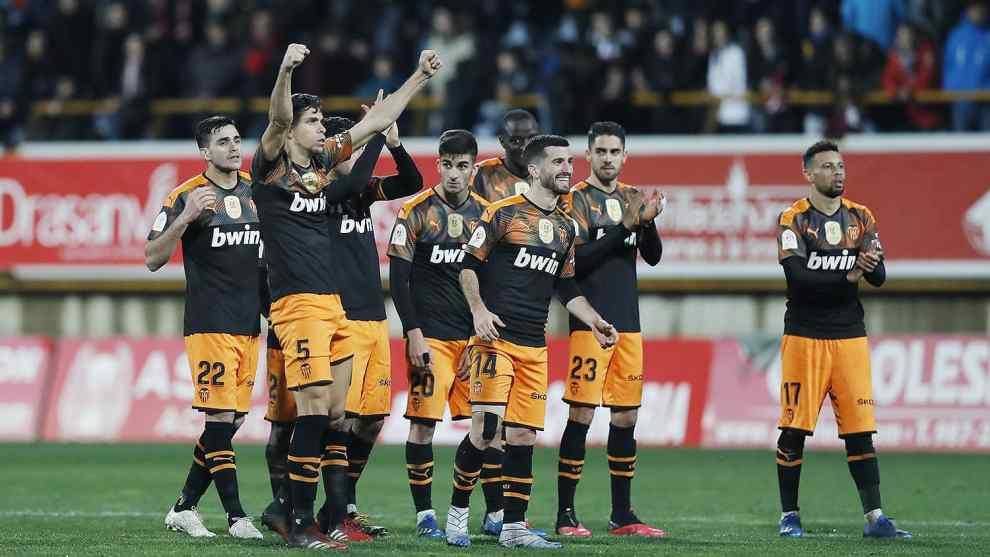 El Valencia se clasificó por penalties para cuartos de final de la Copa del Rey ante la Cultural Leonesa/VCF