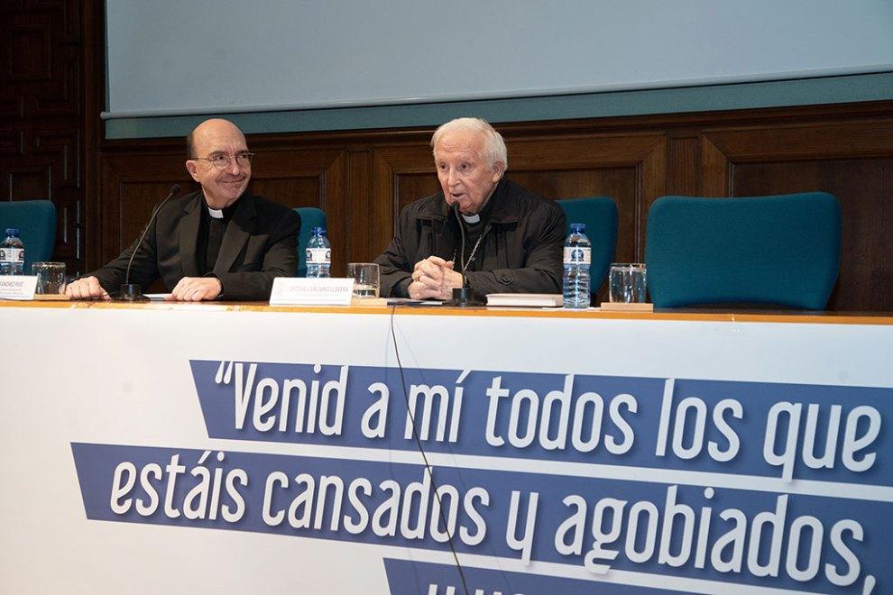El cardenal Antonio Cañizares en el XVII Encuentro Diocesano de Pastoral de los Enfermos/Img. M.Guallart