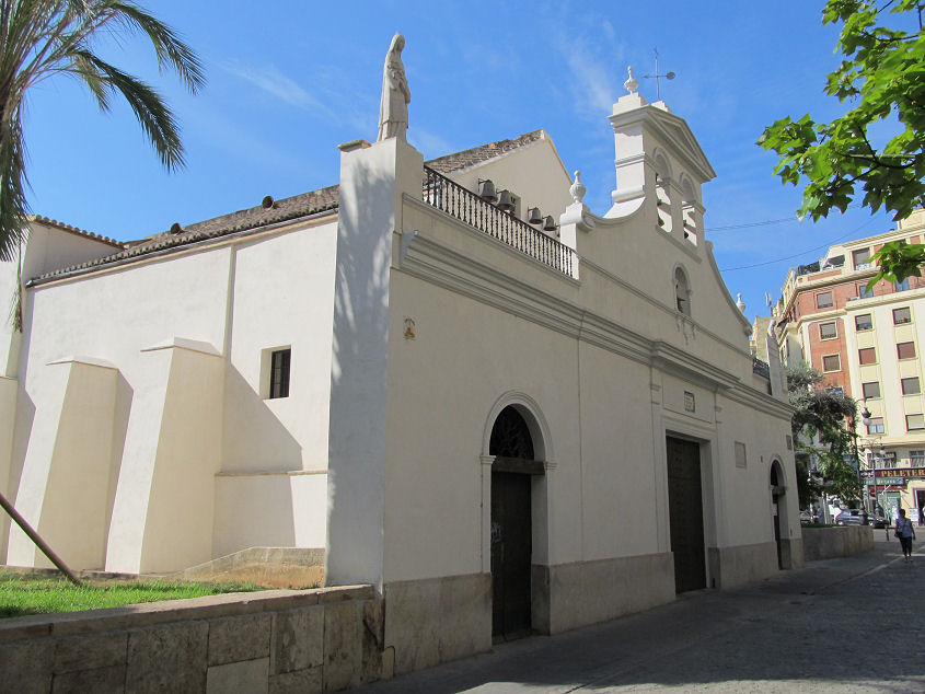 Ermita de santa Lucía en la calle Hospital de Valencia/Archidiócesis