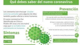 Recomendaciones frente al coronavirus/M.Sanidad