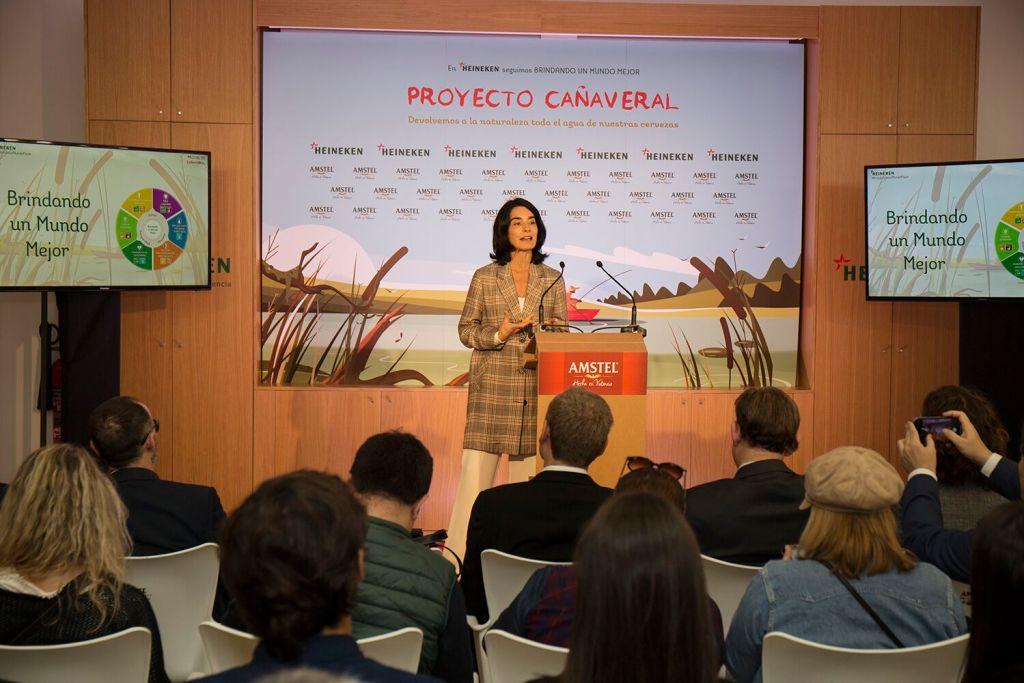 Carmen Ponce, directora de Relaciones Corporativas de Heineken España/informaValencia.com