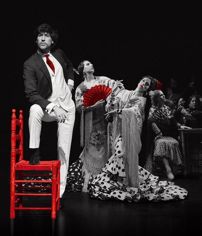 Manuel Lombo, Sara Jiménez y Macarena López en Les Arts/CAC