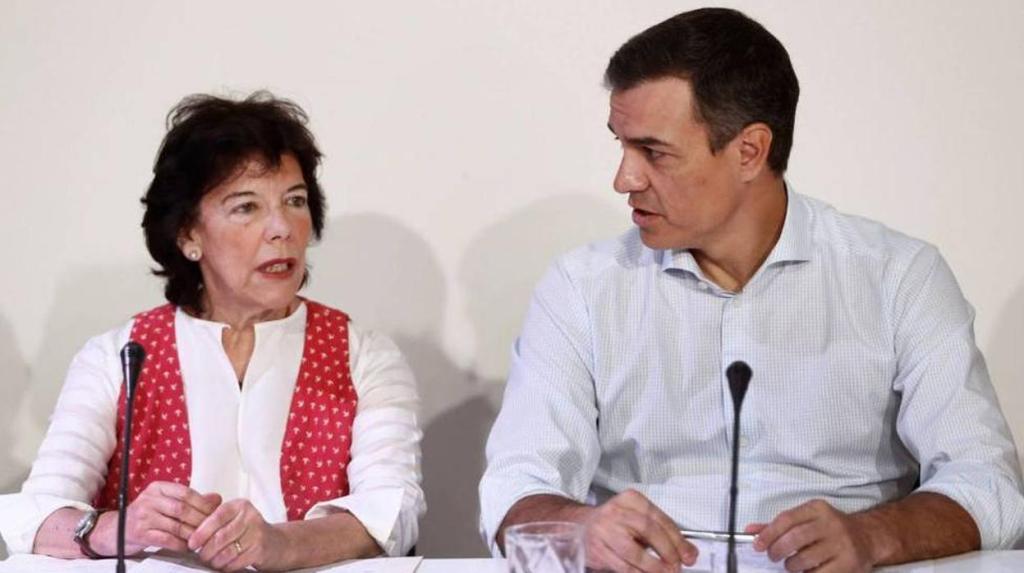 Sánchez y Celaà se reunen con organizaciones de izquierda de materia educativa/PSOE