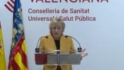 La consellera Ana barceló durante su comparecencia del lunes 30 de marzo/informaValencia.com