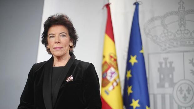 La ministra de Educación, Isabel Celaá/Mº Edu.