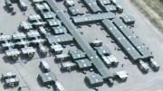 Imagen de un Hospital de campaña construído por el Ejército.