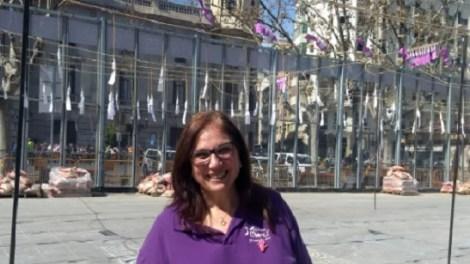 Reyes Martí, pirotécnica de ste domingo 8 de marzo/Img. Tina Tarazona