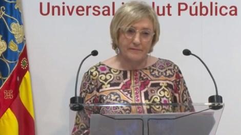 Ana Barceló, consellera de Sanitat/informaValencia.com