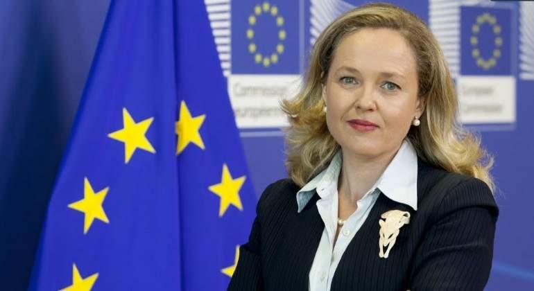 Nadia Calviño, ministra de Economía./rtve