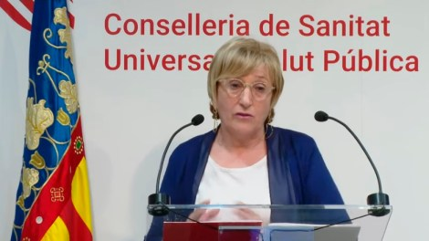 Ana Barceló, consellera de Sanidad/informaValencia.com