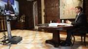 Reunión por videoconferencia entre Puig y Armengol/GVA