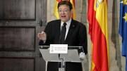 Ximo Puig, este domingo ante los medios de comunicación./GVA