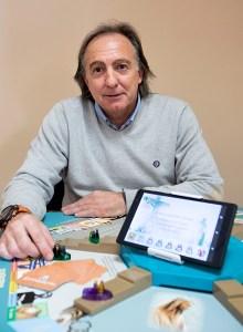 Vicente Miquel, crador de 'Disciple'/Img. V.Gutiérrez