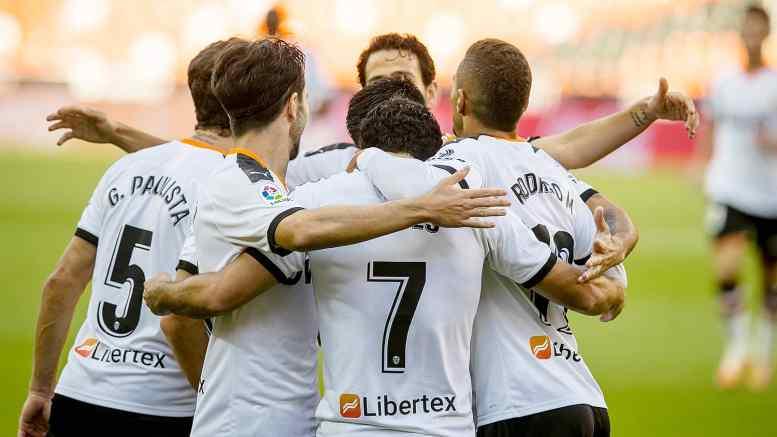 El Valencia se impuso a Osasuna en Mestalla/VCF