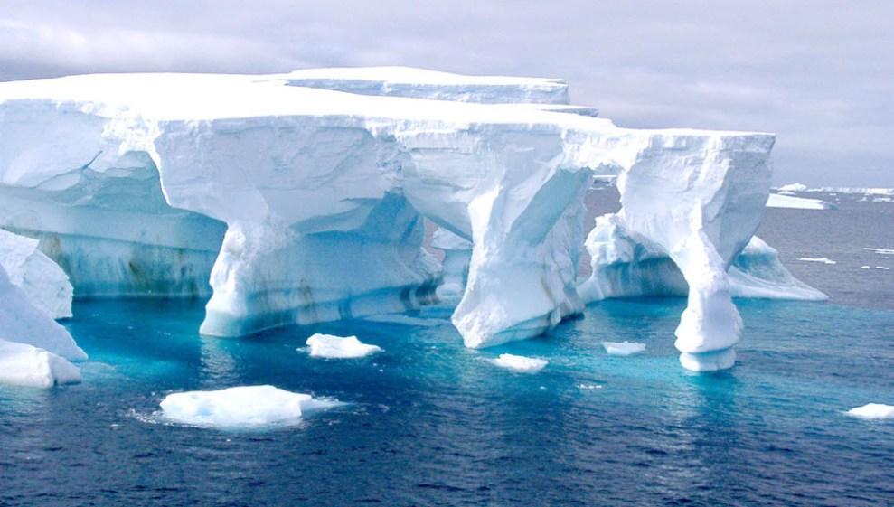 Mar de Weddell en la Antártida/A3