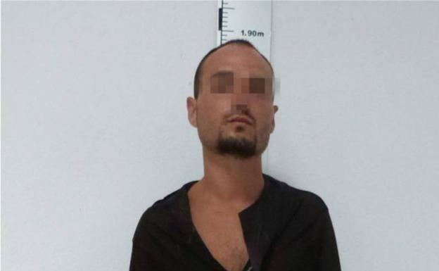 El delincuente identificado como Antonio Lozano Jiménez/Guardia Civil