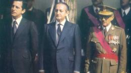 De I a D, Adolfo Suárez, Torcuato Fernández Miranda y el general Manuel Gutiérrez Mellado/Img. informaValencia.com