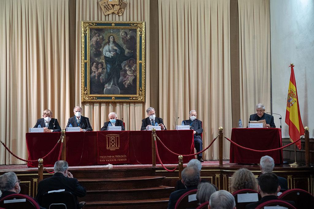 Acto celebrado en la Facultad de teología de Valencia./Img. Manolo Guallart