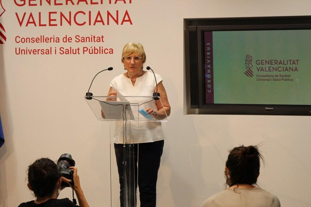 Ana Barceló, consellera de Sanidad,GVA