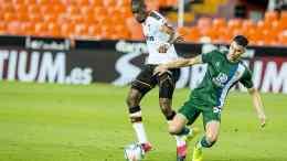 Kondogbia fue de lo poco destacable en el Valencia/VCF