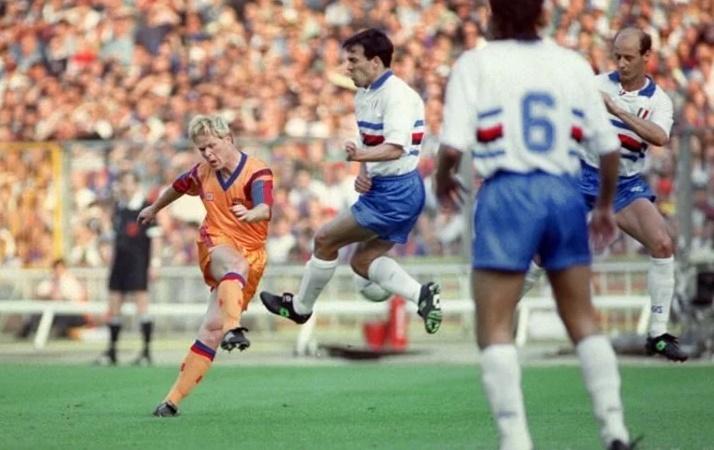 Koeman iba a conseguir con este lanzamiento la primera Copa de Europa para el FCB - informaValencia.com