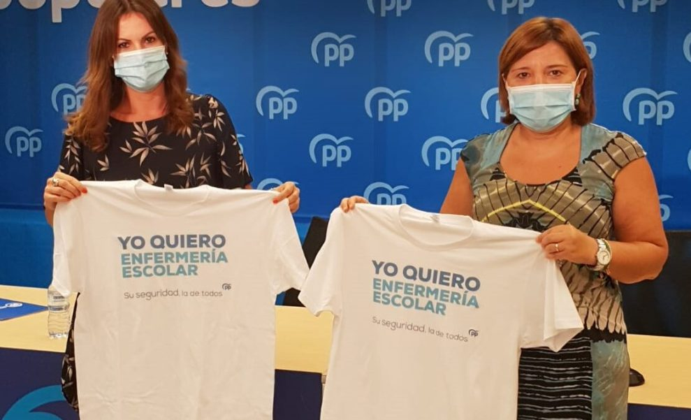 Beatriz Gascó e Isabel Bonig esta mañana durante la rueda de prensa - informaValencia.com