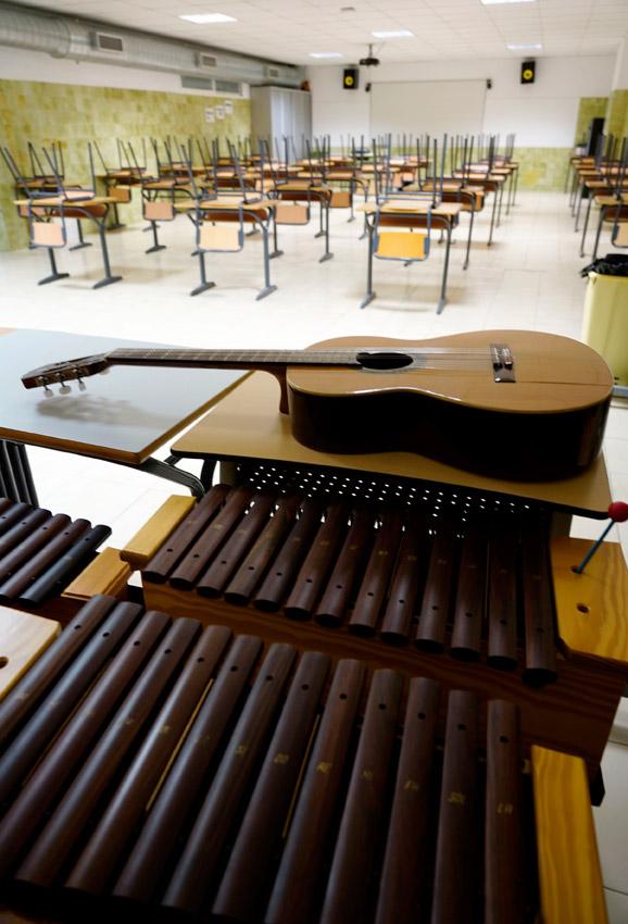 Colegio Sagrada Familia, de Manises - Img. Alberto Sáiz