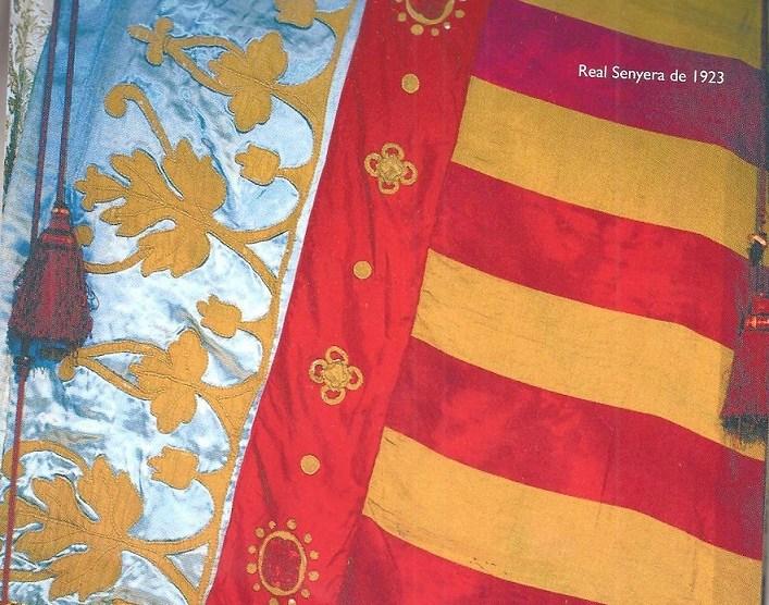 Senyera de Lo Rat Penat desde 1.923 - Img. web Lo Rat Penat.