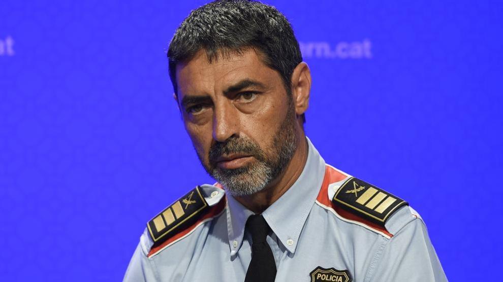 Jose Luis Trapero, policía español, jefe del cuerpo de los Mozos de Escuadra en 2017. Img. LV