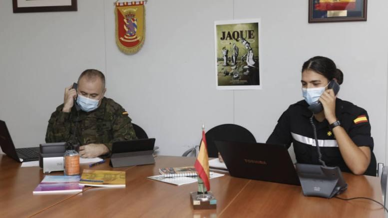 Puig asegura que se incorporarán 15o soldados más del Ejército a las labores de rastreo de contagios. / ET.