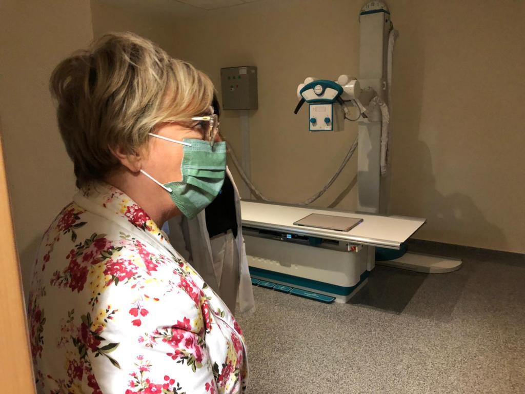 La consellera de sanidad, Ana Barceló en el centro de salud de Ayora - GVA-twitter