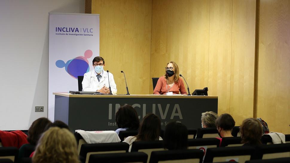 Doctores Hernando y Cejalvo en el INCLIVA. Img. INCLIVA