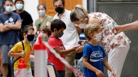 La incidencia en los colegios está controlada, de momento - informaValencia.com
