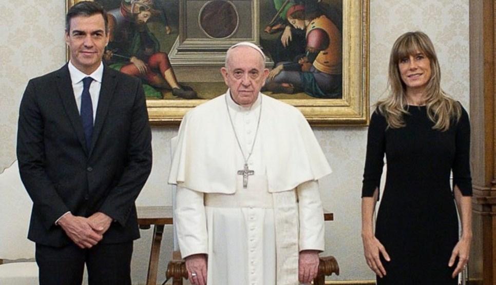 El gesto del papa Francisco lo dice todo sobre la visita se Sánchez. / Img. informaValencia.com