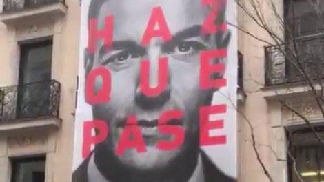 Eslogan de la campaña electoral del PSOE. informaValencia.com