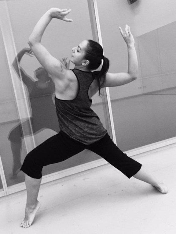 La coreógrafa Sara Cano - danza.es