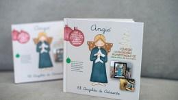 """""""Angie, el angelito de Adviento"""", el libro calendario de las buenas obras/AVAN"""