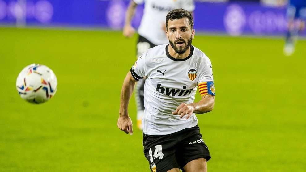 José Luis Gayá, defensa y capitán del Valencia CF / Img. VCF