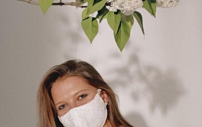 Maquillaje con mascarilla. / Img. Teresa Lens
