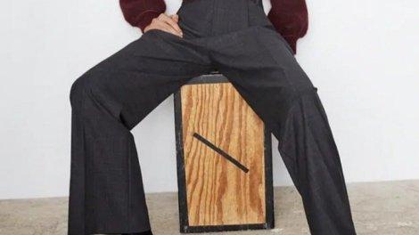 Pantalones de tiro alto para estilizar la figura. /Img. T.L.