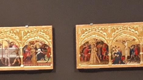La predela del retablo del Centenar de la Ploma expone en el Museo de Bellas Artes de Valencia hasta finales de enero/Img. informaValencia.com