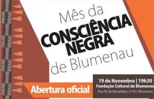 Consciencia negra Blumenau