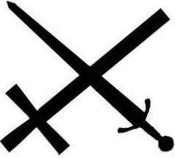 Resultado de imagem para cruz e a espada