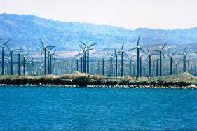 Ветряные фермы в Калифорнии