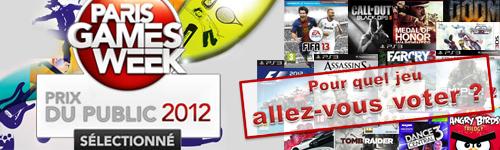 [PGW] Le prix du public 2012