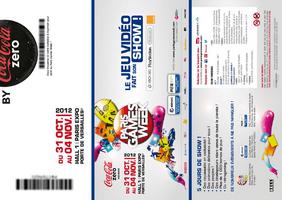 Invitation Paris Games Week 2012