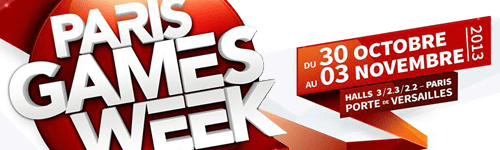 Titre Paris Games Week 2013