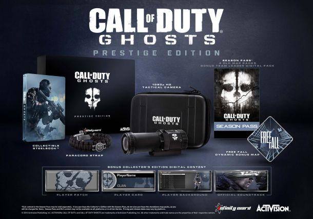 Contenu Call of Duty : Ghosts Prestige