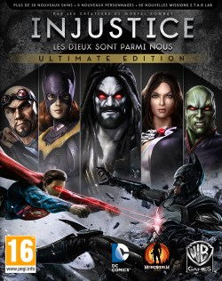 Jaquette Injustice : Les Dieux Sont Parmi Nous Ultimate Edition
